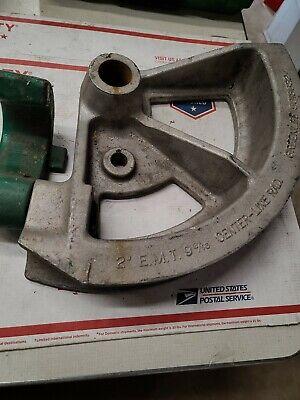 Greenlee 5018632 2 Emt Conduit Bender Die Shoe 1818 Ed4u Auc