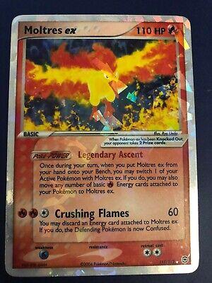 Holo Moltres ex - 115/112 - Fire Red & Leaf Green - Pokemon Card Ultra Rare
