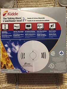 "KIDDE-""Talking"" Smoke & Carbon Monoxide Alarm"