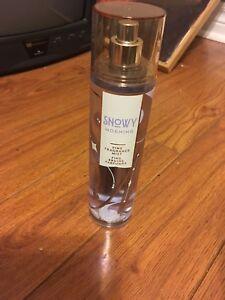 Perfume body spray