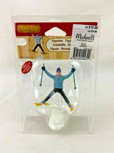 Lemax Village Wo-Hoo Skier 42239 2014 Christmas Collection