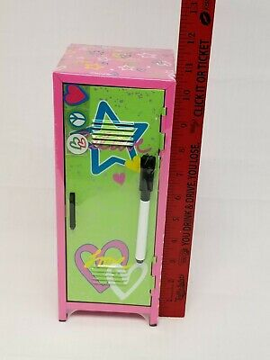 NEW Mini Locker For Any Kind Of Dolls. Comes with dry erase marker,magnets,lock. Mini Lockers For Kids