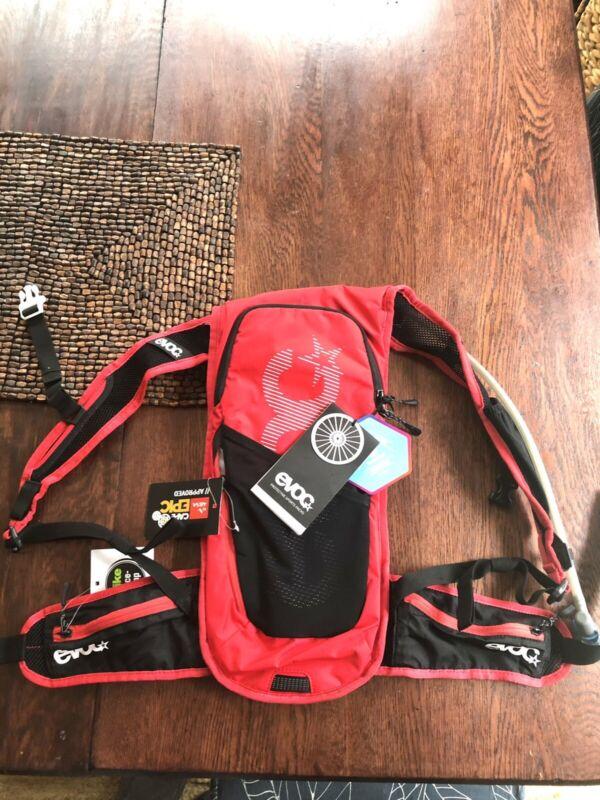 EVOC CC 3 Race + 2L Bladder Hydration Bag 3L Red/Black