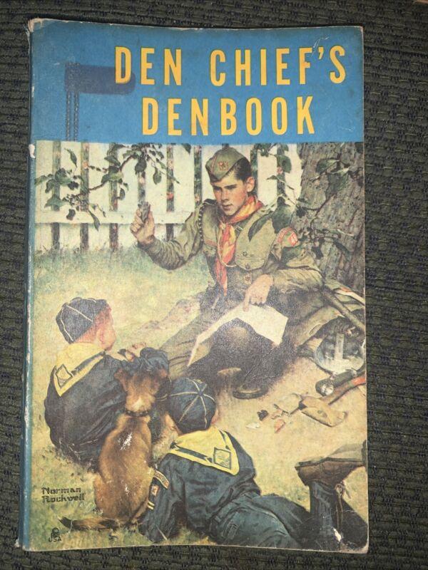 1958 Boy Scout Den Chief's Denbook  BSA