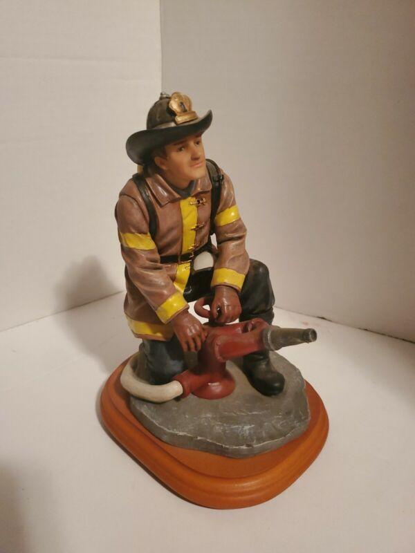 Vanmark Red Hats Of Courage 1st Ed. Fire Scene Prep Figurine
