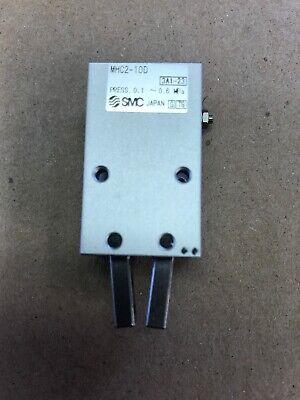 New Smc 1pc Pn Mhc2-10d Pneumatic Angular Air Gripper Cylinder