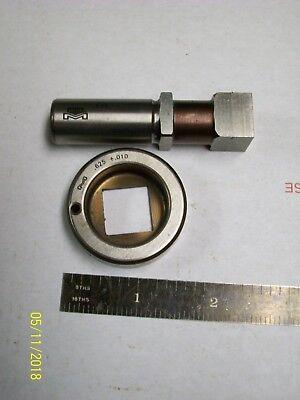1  .625 Inch Turret Punch Press Die Set Mate Square Set .625 .010 58