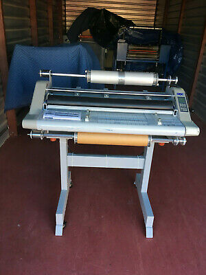 Gbc Discovery 80 High Speed 31 2 Sided Laminator With Stand.