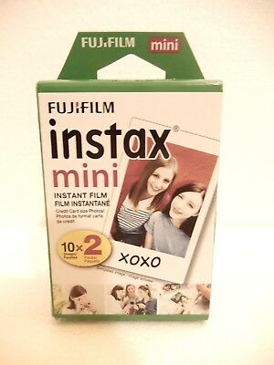 Fujifilm Instax Mini Film Twin pack 20 prints (10 x 2) - US Shipper