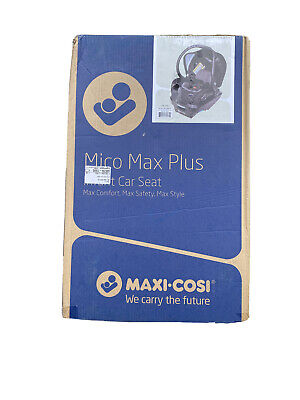 Maxi-Cosi Mico Max Plus Infant Car Seat, PureCosi Onyx Bliss