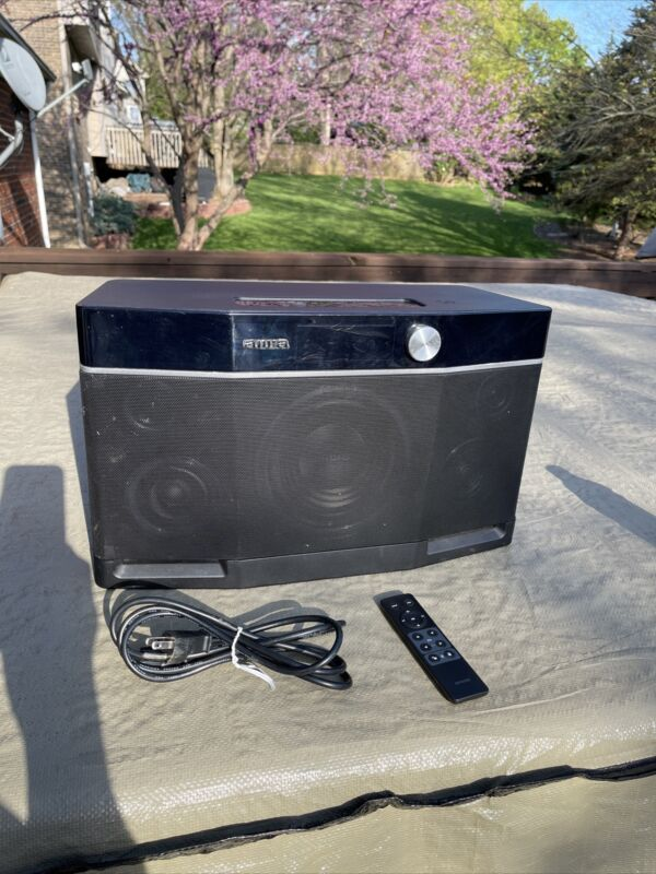 Aiwa EXOS9 Portable Bluetooth Speaker Dual Voice Coil Subwoofer Stereo Sound