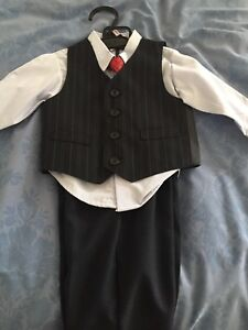 NEW boys 4 piece suit  -18mth