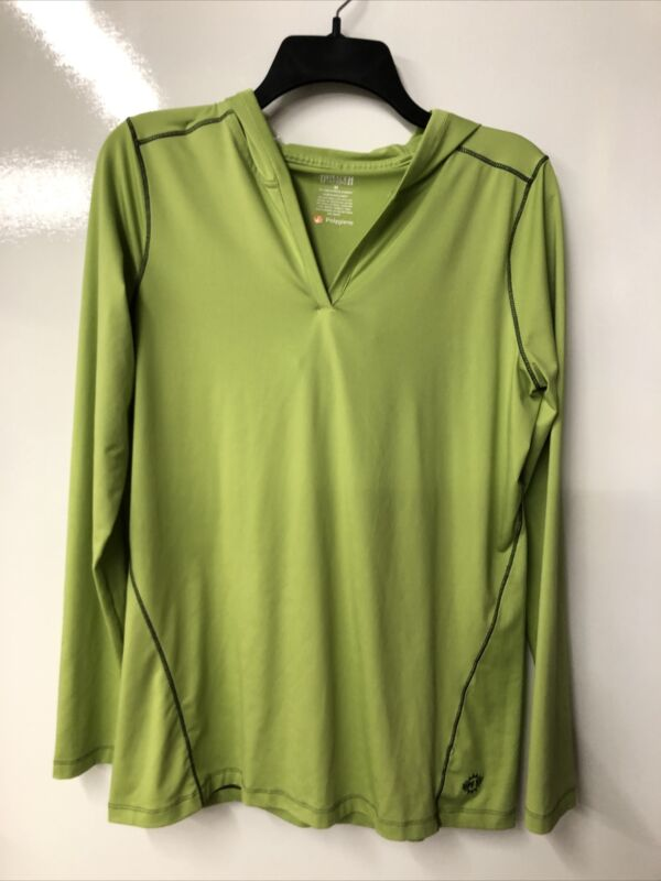 Duluth Trading Company Polygiene Pullover (Size M) UPF Hooded Long Sleeve