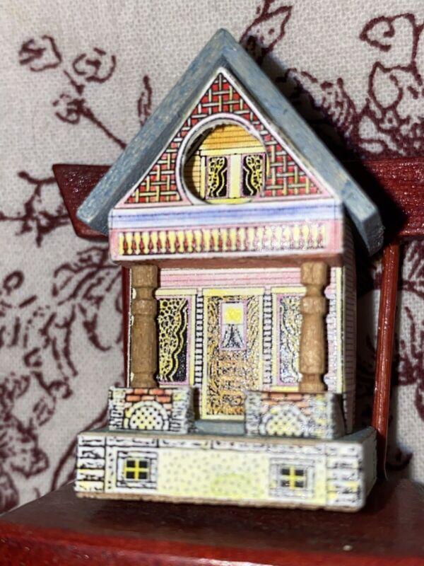 Artist Made Bliss Type Dollhouse For A Dollhouse