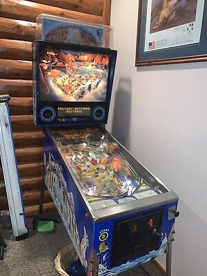 Williams WHITEWATER Pinball Machine Arcade