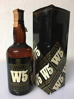 W5 Blended Scotch Whisky 75cl 40% Vol Vintage Aird Blenders A/1