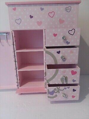 Girls Child Pink Girls Rock Children's Trinket Keepsake Jewellery Storage Box Baby Storage Jewelry Boxes