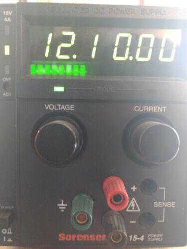 Sorensen XT 15-4 Power Supply M9B (Xantrex)