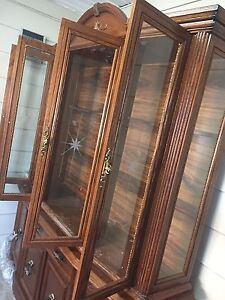 Buffet with Hutch or Display Cabinet
