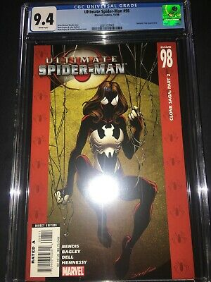 Spider Man Jessica Drew (Ultimate Spider-Man #98 CGC 9.4 - 1st App Ultimate Jessica Drew -)