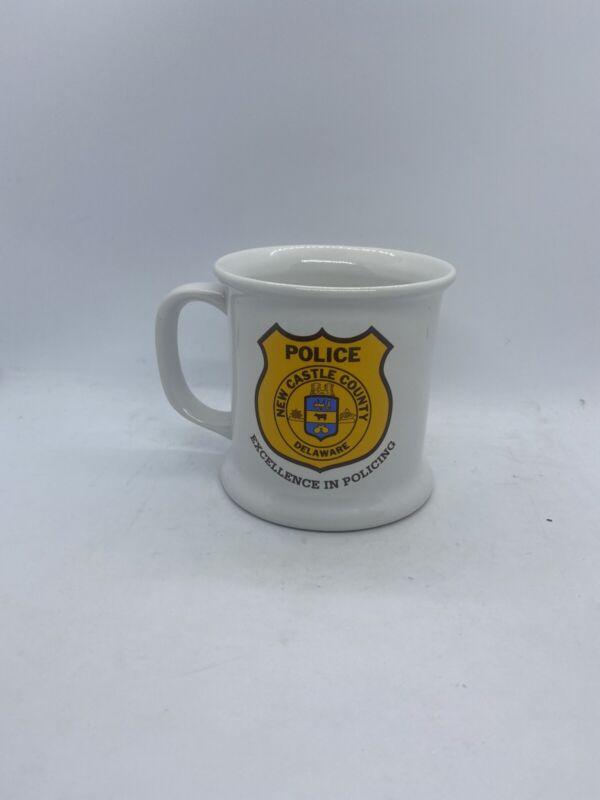 New Castle County Delaware Police 25th Anniversary Coffee Mug