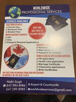 Form Filling Services - OCI, VISA, PASSPORT, PR Renewal