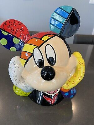 Disney Britto Limited Edition Mickey Mouse Cookie Jar