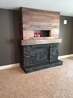 Custom Fireplace Sureounds