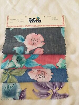 Reyn Spooner Hawaiian Traditionals Fabric Swatch For Crafts, Quilts, Hobbies