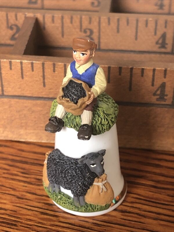 Thimble Sterling Classic Nursery Rhyme Baa Baa Black Sheep