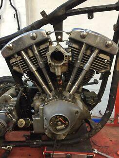 Harley shovelhead engine Melbourne CBD Melbourne City Preview