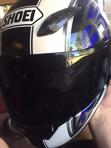 Motorcycle helmets (size large)