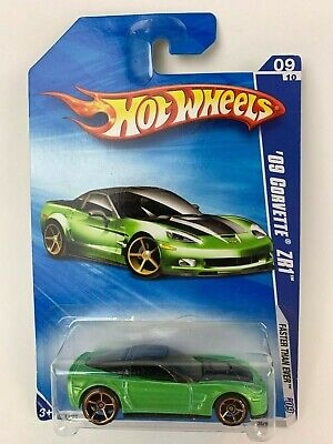 Hot Wheels Faster Than Ever '09 Corvette ZR1 New
