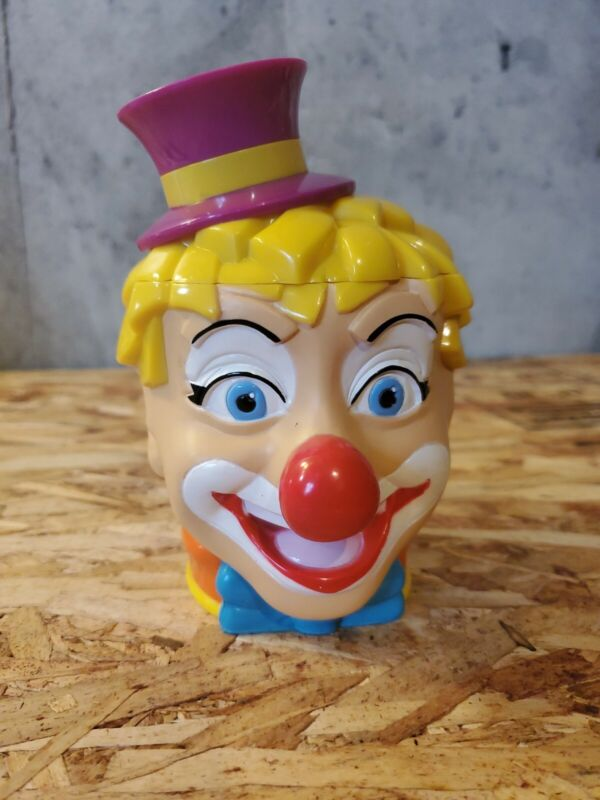 The Greastest Show On Earth Ringling Bros Clown Cup Flip Lid #1
