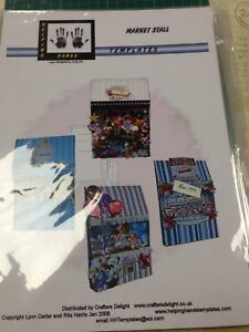 Market stall new card making templates