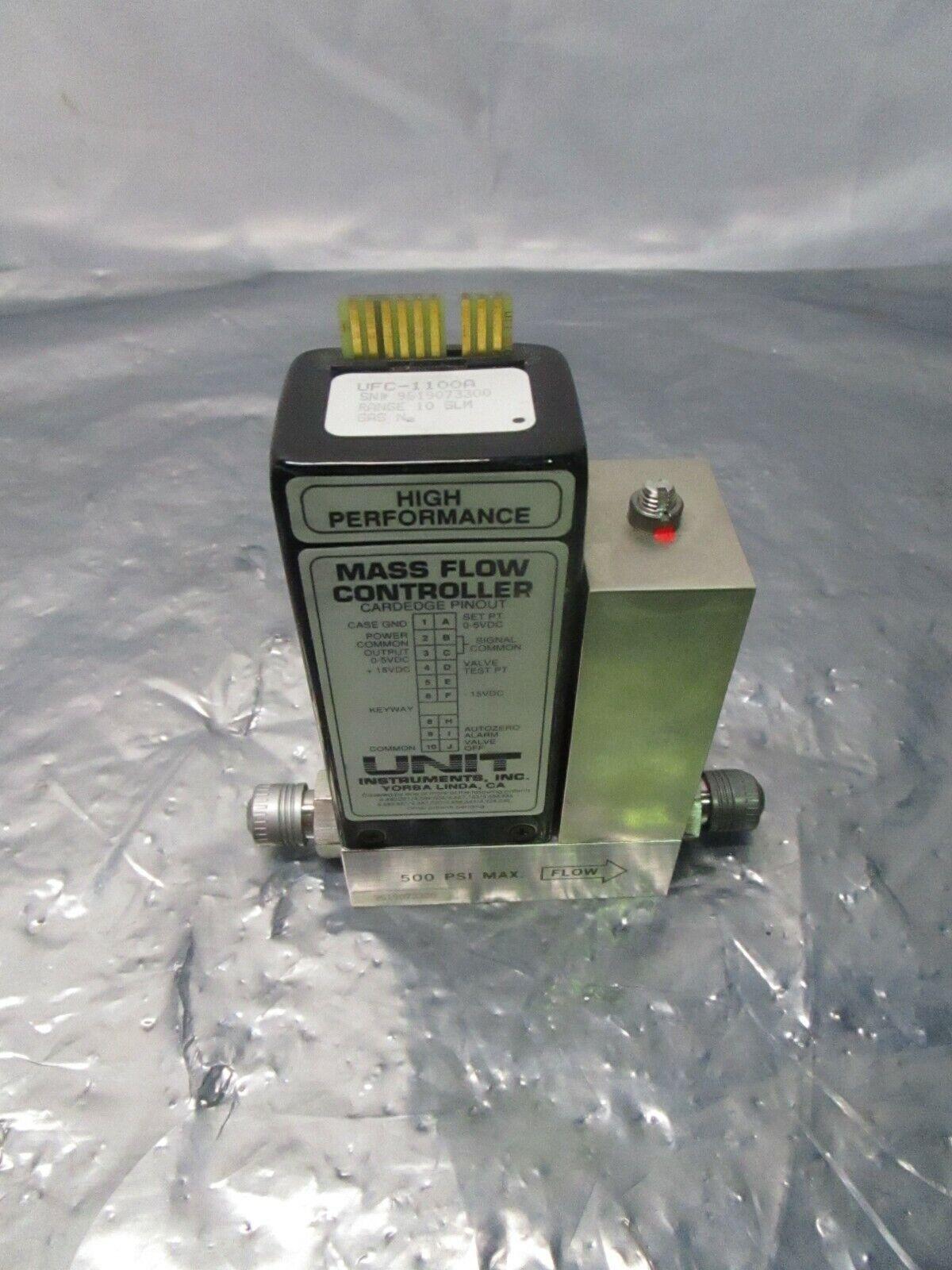 Unit UFC-1100A Mass Flow Controller, MFC, N2, 10 SLM, 329761