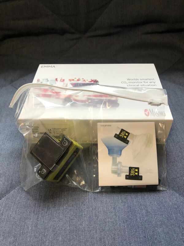 Masimo EMMA Kit Capnograph Portable Real-Time Capnography