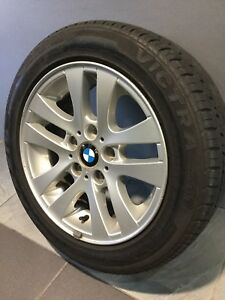 "BMW 323I E90 16"" GENUINE ALLOY WHEELS AND TYRES Carramar Fairfield Area Preview"