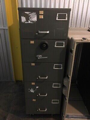 Mosler 5 Drawer File Safe Sfc 5 Security Cabinet Wdigital Lock