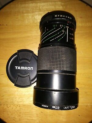 Vivitar 67mm Camera Lens 28-85mm f2.8-3.8 Zoom Picture Tamron Photography Tools