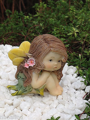 Miniature Figurine FAIRY GARDEN ~ Sweet Petite Little Fairy Girl ~ NEW