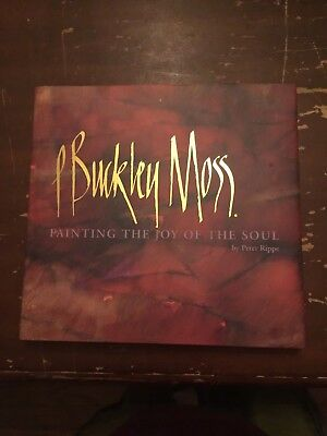 1997 P Buckley Moss Painting The Joy Of The Soul by Peter Rippe SIGNED for sale  Marshalltown