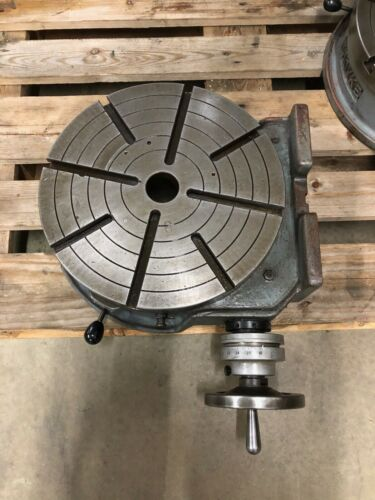 "TROYKE Mfg. - 15"" Rotary Table  Vertical/ Horizontal"