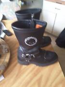 Harley Davidson boots size 7 near new paid 300 sell 150 Beenleigh Logan Area Preview