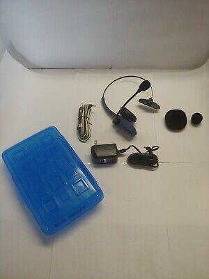 Blue Parrot B250-XT USB Bluetooth Wireless Trucker Headset VXI Blue Parrot B250xt Bluetooth