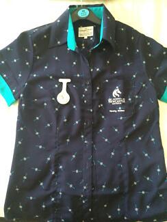 Newcastle Uni- Nursing Shirt Fern Bay Port Stephens Area Preview