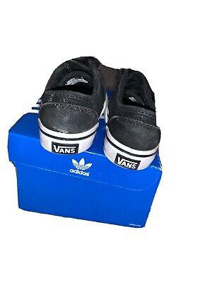 Boys infant vans Size 4.5