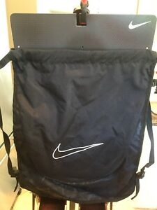 NIKE Black carry all nylon BackPack (Great for Beach)