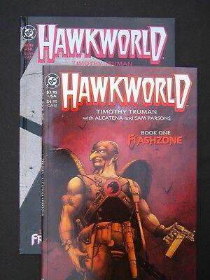 Hawkworld #1 & #2 NM- 1989 High Grade DC Comic