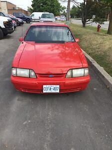 1987 mustang lx trunk